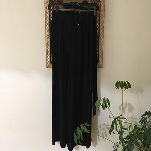 St John Wide Leg Belted Trousers